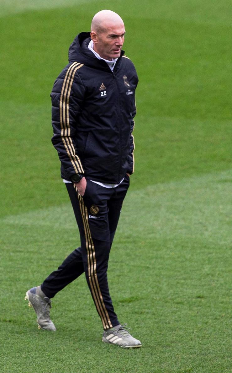 "Trening Real Madrida pred ""El klasiko"""