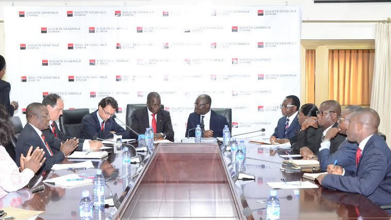 Ghana-Societe Generale sign $50 million foreign missions rehabilitation deal