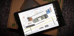 Tablet do telefonowania, z mapą Europy i nawigacją w cenie!