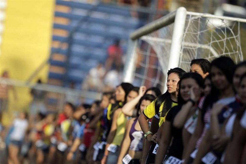 Amatorski turniej piłki nożej w Brazylii