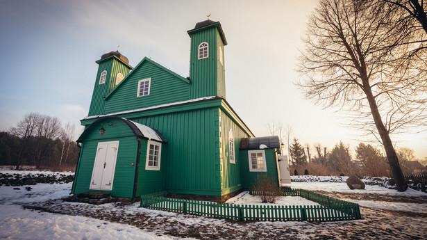 Tatarski meczet we wsi Kruszyniany w województwie podlaskim