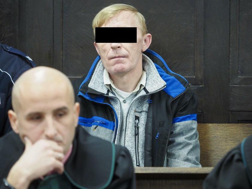 Dariusz G. na ławie oskarżonych