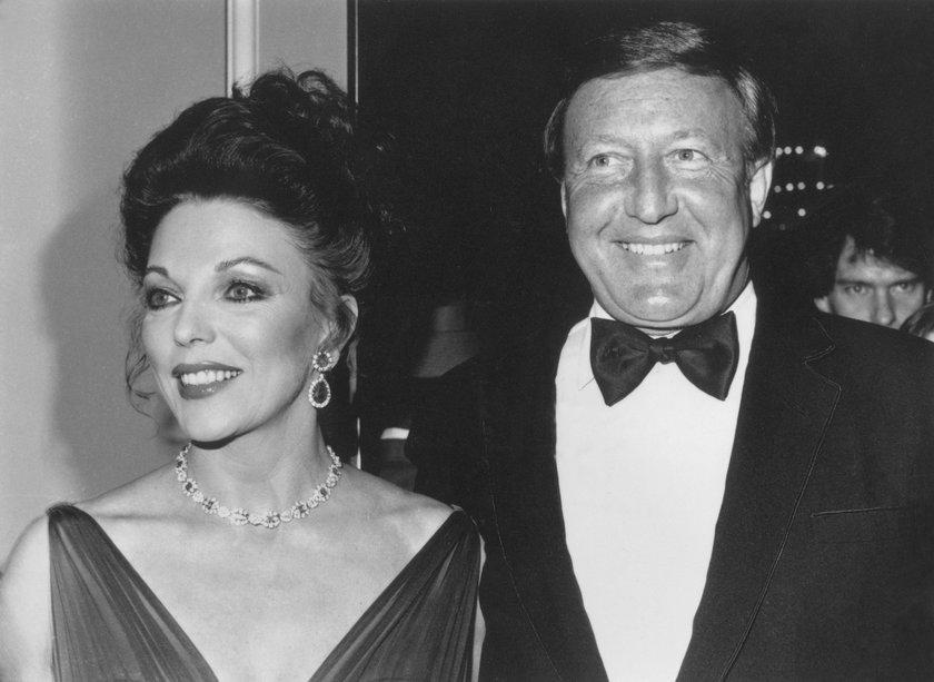 Joan Collins i Ronald Kass