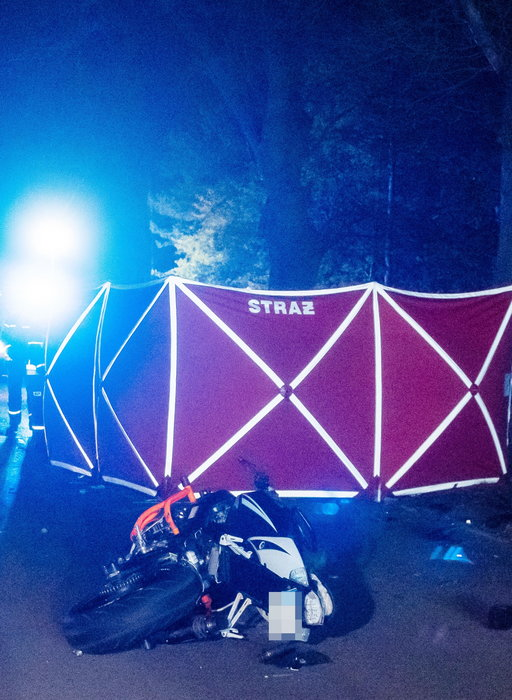 Tragiczny bilans wypadku w Aleksandrowie Łódzkim. Zmarła kolejna osoba. To ranna pasażerka motocykla