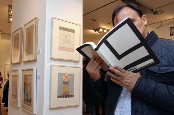 Damnjanovu izlozbu u Arte Galeriji prati i katalog