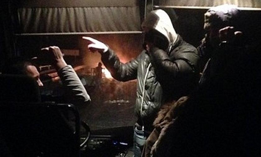 Ukraińcy napadli na autokar z Polakami.