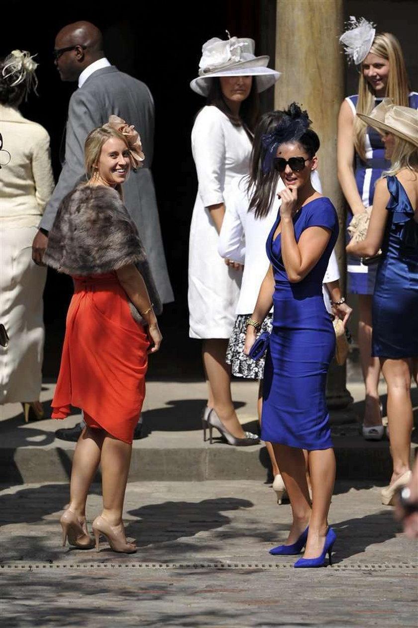 Kate Middleton na ślubie Zary Phillips