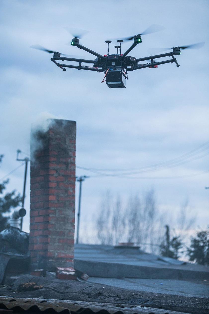 Drony sposobem na trucicieli powietrza