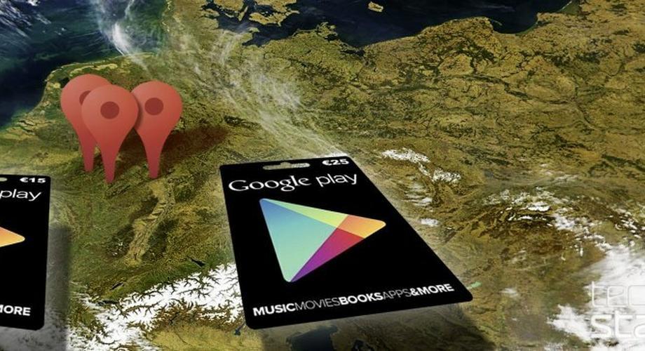 Google-Play-Guthabenkarten tauchen in Deutschland auf