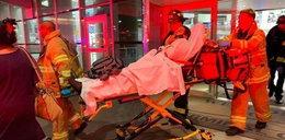 Krew i krzyki na pokładzie samolotu. Wielu rannych