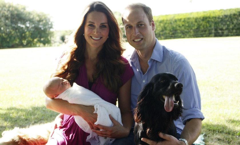 Pies Lupo odszedł. Księżna Kate i książę William zrozpaczeni