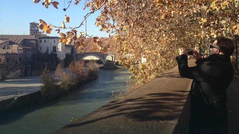 Rzym jest piękny nawet w listopadzie, fot. Autor