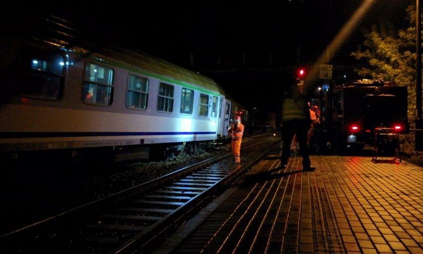 Pociąg wykoleił się w miejscowości Subkowy koło Tczewa