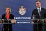 Aleksandar Vucic, Federika Mogerini, Tanjug, D. Goll