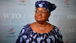 Director-General WTO, Dr Ngozi Okonjo-Iweala [Fabrice Coffrini/AFP/Getty Images]