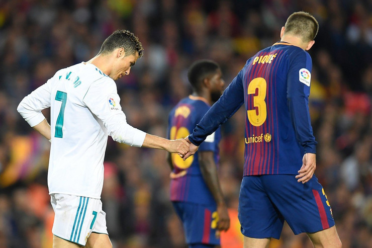 Kristijano Ronaldo i Žerar Pike