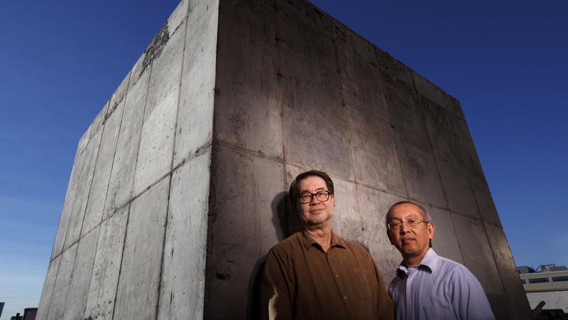 Natryskowy beton ochroni przed atakiem elektromagnetycznym