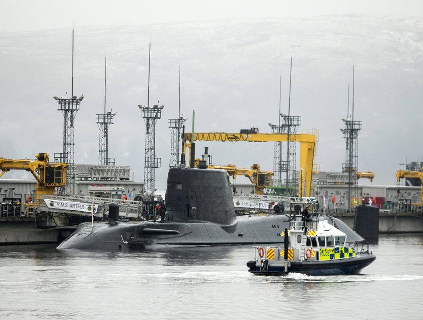 Tajna baza łodzi nuklearnych