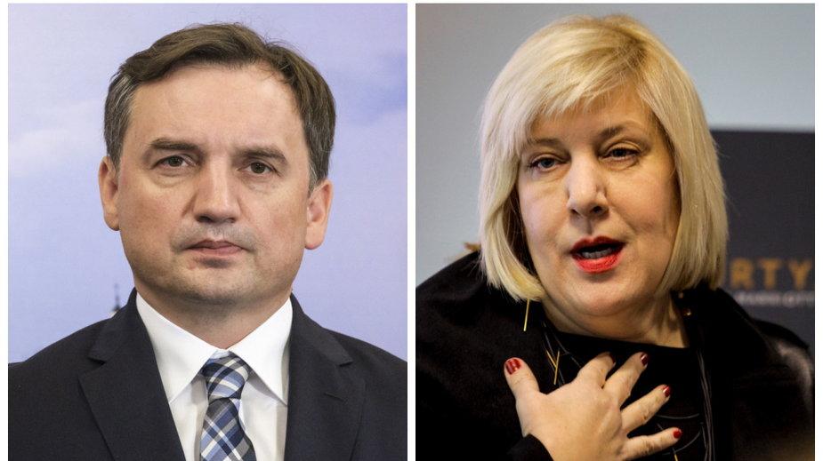 Zbigniew Ziobro i Dunja Mijatović