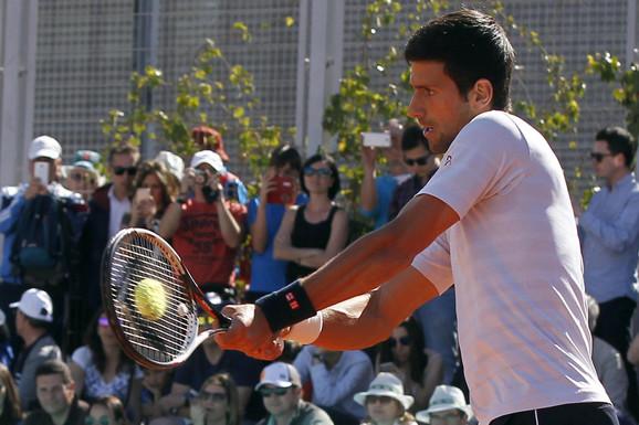Novak Đoković u Madridu