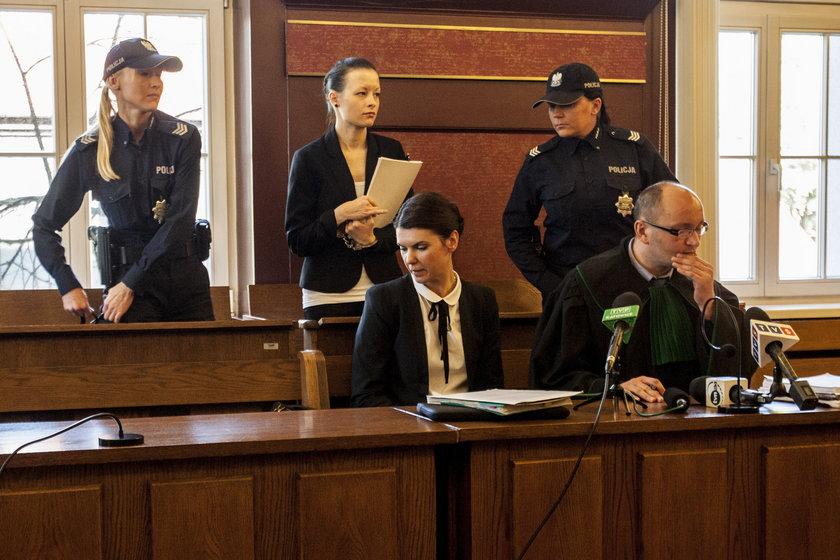Waśniewska w sądzie