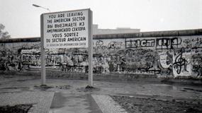 Mur, który 57 lat temu podzielił Berlin