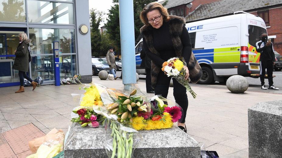 Areszt śledczy Croydon, gdzie doszło do zabójstwa policjanta