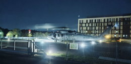 W wichurze, przez całą Polskę, policyjnym Black Hawkiem transportowali serce do przeszczepu