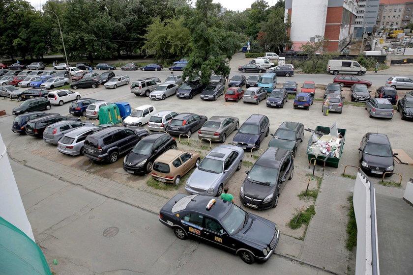 Tak wyglądają ich parkingi
