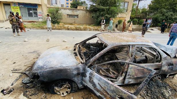 Atak rakietowy w Kabulu, Afganistan EPA/STRINGER Dostawca: PAP/EPA.