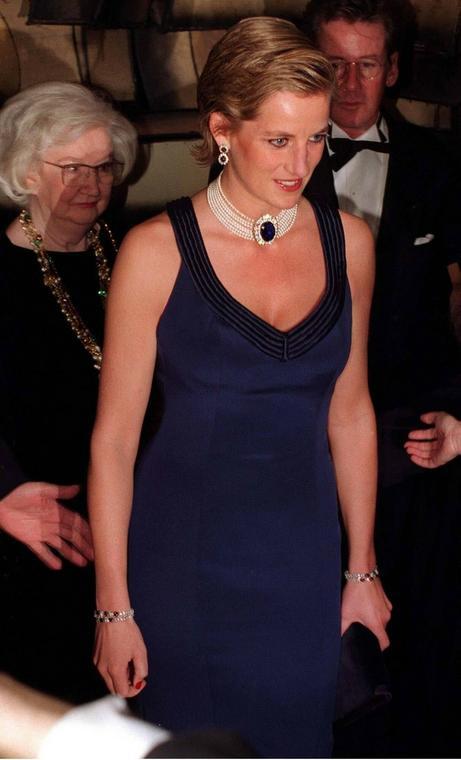 Księżna Diana, rok 1995
