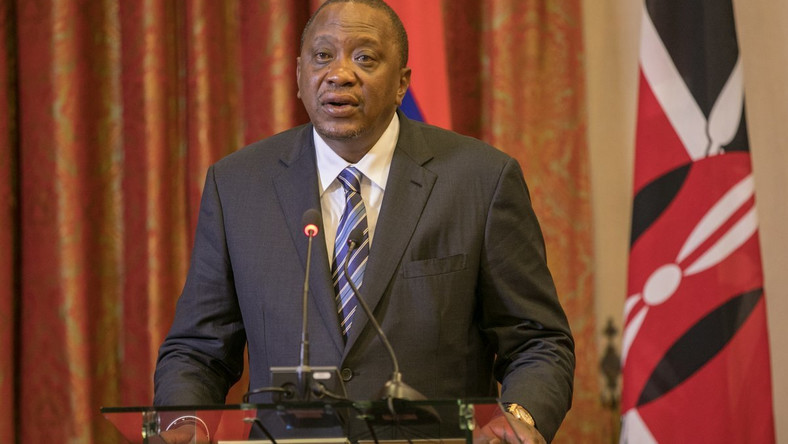 President Uhuru Kenyatta during his recent visit to Mauritius (PSCU)