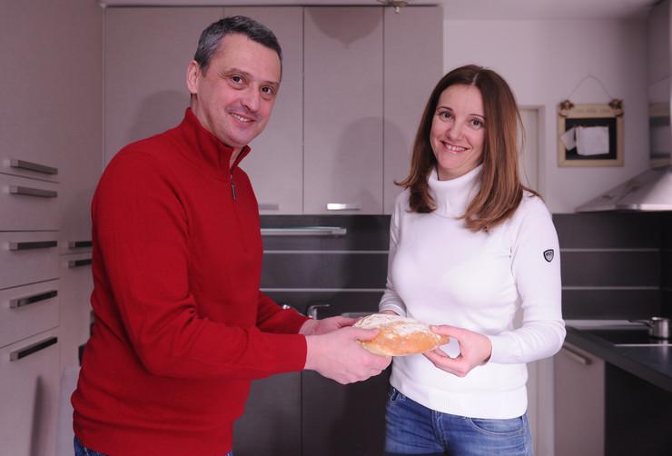 Dejan Radonjić i supruga Milica