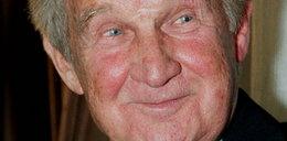 Jest najstarszym polskim aktorem. Ma 100 lat i nadal pracuje