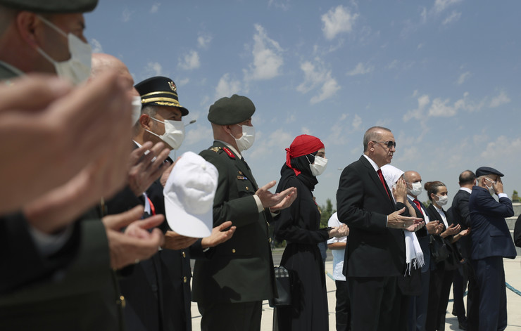 Turska, godišnjica puča, Redžep Tajip Erdogan