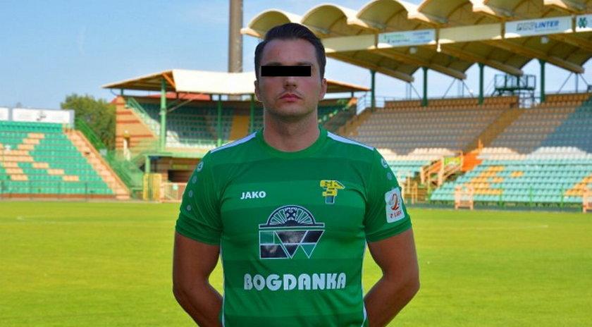 Rozbił w Lublinie maserati. Nie jest już piłkarzem Górnika Łęczna