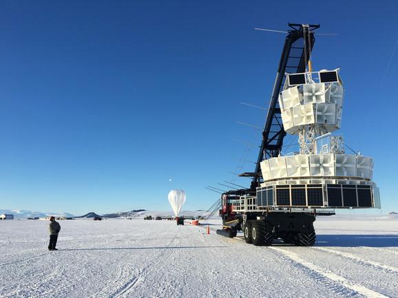 Postavljanje antene ANITA