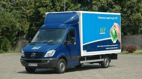 Mercedes Sprinter LGT - auto którego nie ma