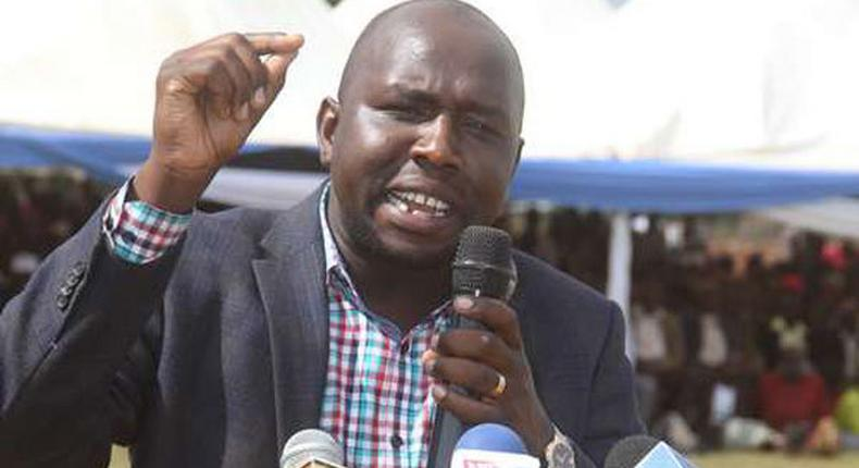 File image of Kipchumba Murkomen. He has responded to David Murathe's remarks in which the latter threatened to go to the Supreme court to bar DP Ruto from contesting in 2022