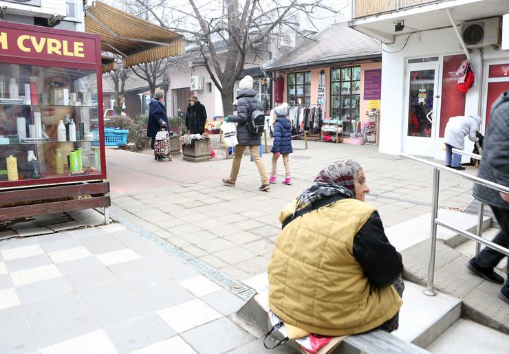 Ovde se odgirao napad prodavačice na komunalnu micionarku
