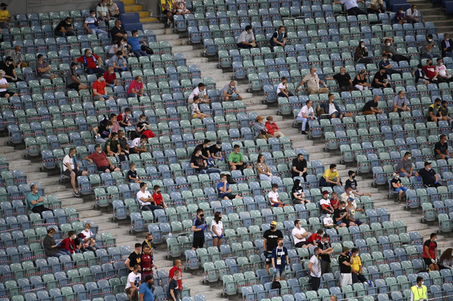 Publika na meču FK Soči - FK Rostov