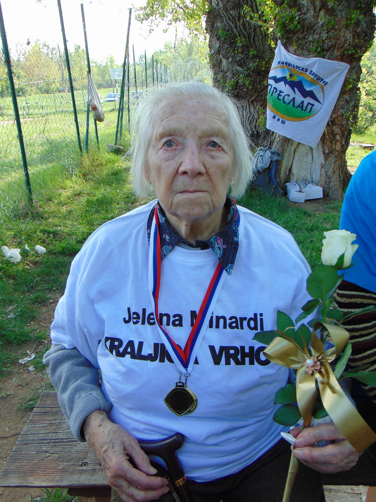 NIS02 Jelena Minardi  na proslavi 100 rodjendana foto Branko Janackovic