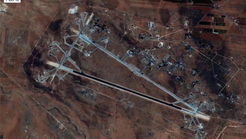 Zaatakowana syryjska baza