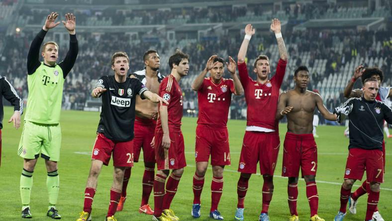 Radość piłkarzy Bayernu