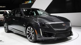 Cadillac CTS-V: amerykański konkurent AMG (Genewa 2015)
