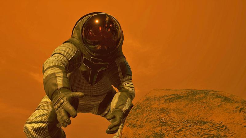 Mars 2030 -  wybierz się na Marsa razem z NASA