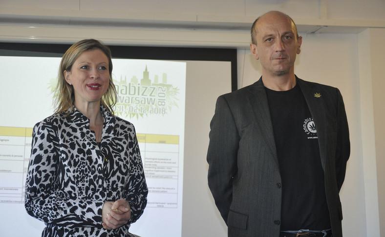 Magdalena Napierała i Emanuel Kotzian, współorganizatorzy targów