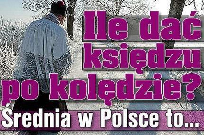 Ile dać księdzu po kolędzie? Średnia w Polsce to...