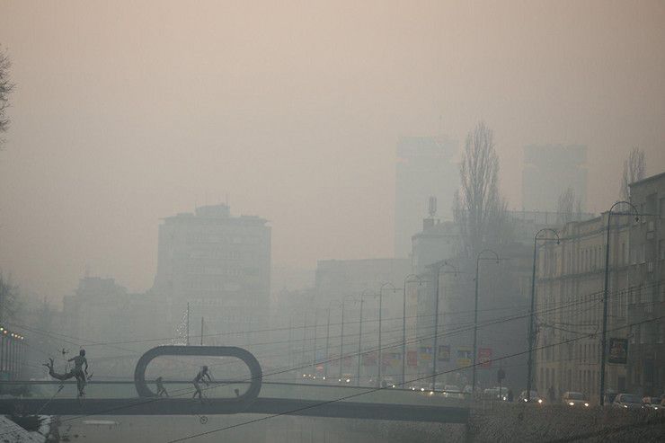 Vazduh zagadjenje Sarajevo