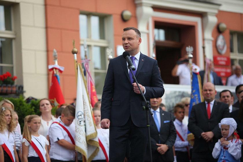 Burmistrz Psikus pomyliłimię prezydenta